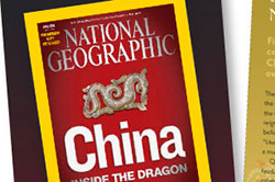 National Geographic subscription flyer