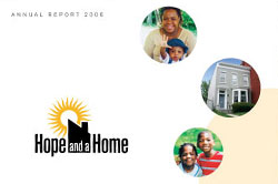 Hope and a Home nonprofit annual report