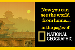 National Geographic magazine subscription web ad