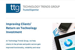 Responsive website for Technology Trends Group