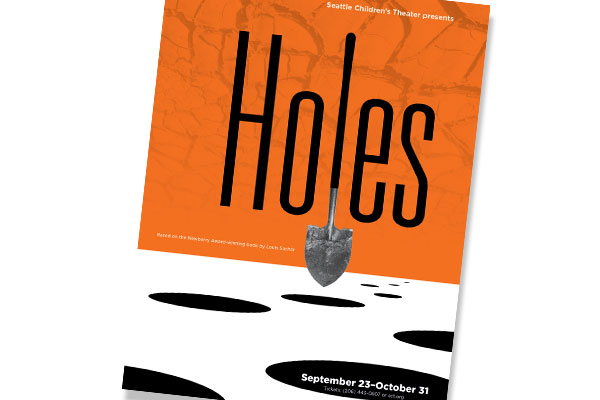 Poster for 'Holes' play