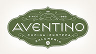 Louise Fili package design for Aventino
