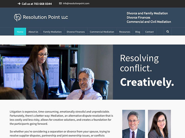 Resolution Point LLC, Divorce, Family and Commerical Mediation