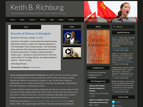 Keith Richburg site