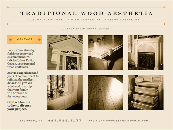 Wood Aesthetia site